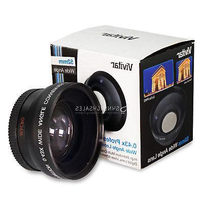 52MM Wide Lens + Filter for D3300 D3200