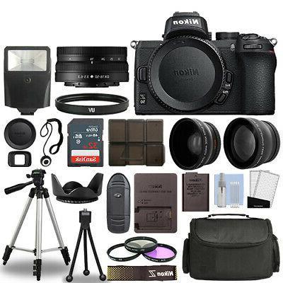 z50 mirrorless camera body 3 lens kit