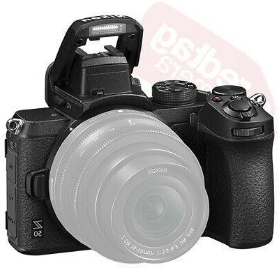 Nikon Body Lens Kit + 32GB + Flash & More