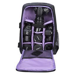 G-raphy Camera Backpack Waterproof for DSLR/SLR Cameras , 17