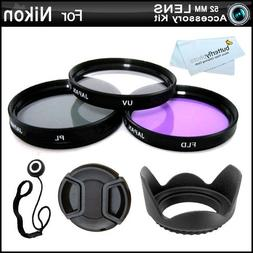 52MM Professional Lens Accessory Kit for NIKON Df DSLR  - In