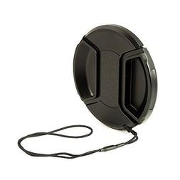 BlueBeach 37mm Lens Cap - Snap on Clip on with String for Ca