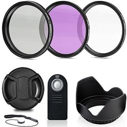 Deals Number One Professional 55MM Lens Filter Accessory Kit