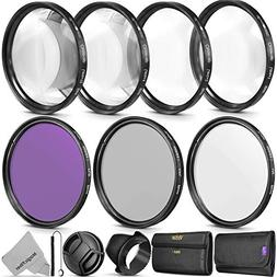 58MM Professional Lens Filter and Close-Up Macro Accessory K