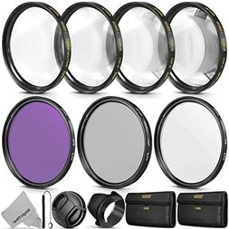 67MM Professional Lens Filter and Close-Up Macro Accessory K