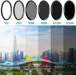 Neewer Camera Lens Filter Kit for GoPro Hero 5/6/7: Neutral
