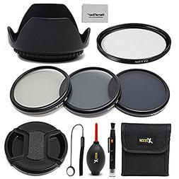 58mm Lens Accessories Kit w/ 58mm ND Filters Kit, 58mm Lens