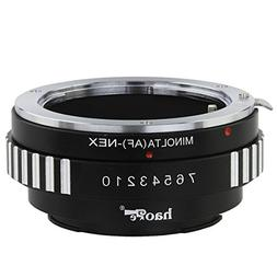 Haoge Lens Mount Adapter for Sony Alpha A-type Minolta MAF A