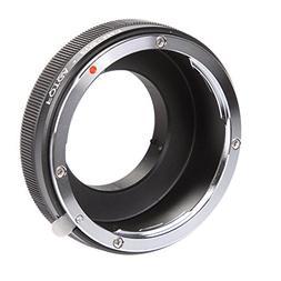 FOTGA Lens Mount Adapter for Canon EF EF-S Mount Lens to Mic