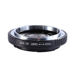 Beschoi Lens Mount Adapter for Canon FD Lens to Canon EOS  M