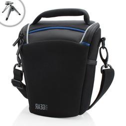 USA Gear Top Loading Travel DSLR Camera Case Bag for Nikon C