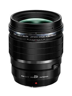 Olympus M Zuiko 45mm f1.2 PRO Lens, Black