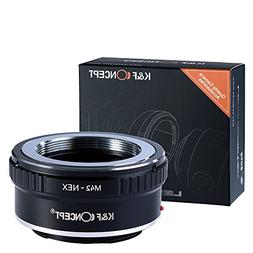 M42 to e mount, K&F Concept Lens Mount Adapter M42 Lens to S