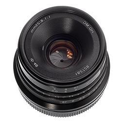 Fotga 25mm f1.8 Manual Focus HD/MC Prime Lens for Canon EOS