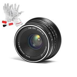 7artisans 25mm F1.8 Manual Focus Prime Fixed Lens for Olympu