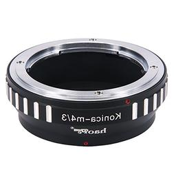 Haoge Manual Lens Mount Adapter for Konica AR Mount Lens to