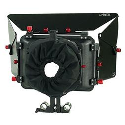 FILMCITY MB-600 Power Sunshade Matte Box for 15mm Rod Suppor