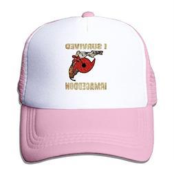 Nquqiyilu Men I Survived Hurricane Irma Cool Baseball Pink M