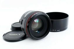 Canon EF 50mm F/1.2 L USM AF Lens From Japan