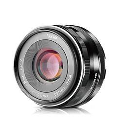 Meike 35mm F1.7 Manual Focus Prime Lens for Micro 4/3 MFT M4