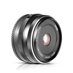 MEKE Meike MK 28mm f/2.8 Fixed Manual Focus Lens for Mirrorl