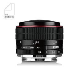Meike MK 6.5mm f/2.0 Circular Fisheye Lens for Sony A7 A6000