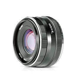 Meike 50mm f/2.0 Large Aperture Manual Focus MFT M4/3 Lens A