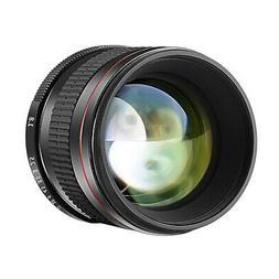 Neewer 85mm f/1.8 Portrait Manual Focus Telephoto Lens for C
