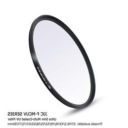 JJC Multi-Coated 49mm UV Filter Ultraviolet Filter for Canon