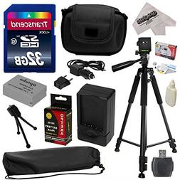 Must Have Accessory Kit for Canon PowerShot G1X G16 G15 SX50