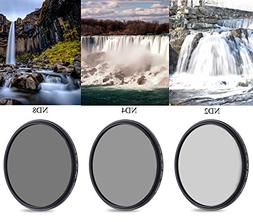 77mm Neutral Density Professional Camera Lens Filter Set , N