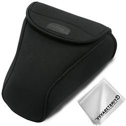 First2savvv Neoprene Camera Case Bag for Nikon D7500 D7200 D