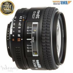 NEW Nikon 28mm f/2.8D AF Nikkor Lens - International Version