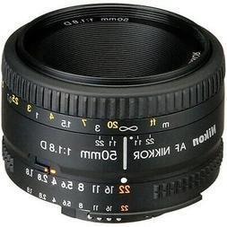 Nikon AF NIKKOR 50mm f/1.8D Lens for Nikon DSLR Cameras