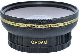New 77mm HD Wide Angle Macro Lens for Nikon COOLPIX P1000 Di