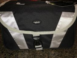 new black gadget bag for slr camera