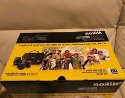 New Nikon D3200 Digital SLR 24.2 MP Camera w/ 18-55mm, 55-20