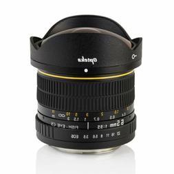 New Opteka 6.5mm f/3.5 HD Aspherical Fisheye Wide Angle Lens