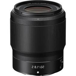 Nikon NIKKOR Z 50mm f/1.8 S Lens for Z Series Mirrorless Cam