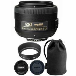 Nikon AF-S DX NIKKOR 35mm f/1.8G Lens for Nikon Digital SLR