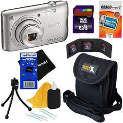 Nikon COOLPIX A300 20.1 MP Digital Camera with 8x Zoom NIKKO