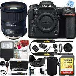 Nikon D500 20.9 MP CMOS DX DSLR Camera with Tamron SP 24-70m