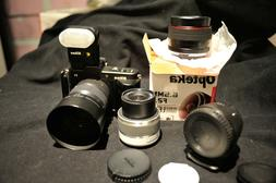 Opteka 6.5mm FAST F2 Large Aperture Fisheye Lens for Nikon 1