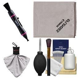 Canon Optical Digital Camera & Lens Cleaning Kit with Brush,