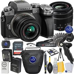 Panasonic Lumix DMC-G7 Mirrorless Camera with 14-42mm Lens