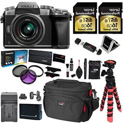 Panasonic LUMIX DMC-G7KS DSLM 4K Camera , 14-42 mm Lens Kit,