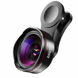 Phone Camera Lens for iPhone and Android, Wide Angle & Macro