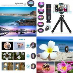 APEXEL Phone Camera Lens with 18x Telephoto Lens+Fisheye,Mac