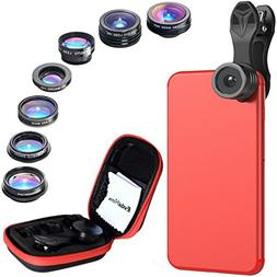 Phone Camera Lens Kit - iPhone Camera Lens - Fisheye Lens |