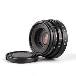Pixco Mini 25mm F1.8 APS-C Television TV Lens CCTV Lens for